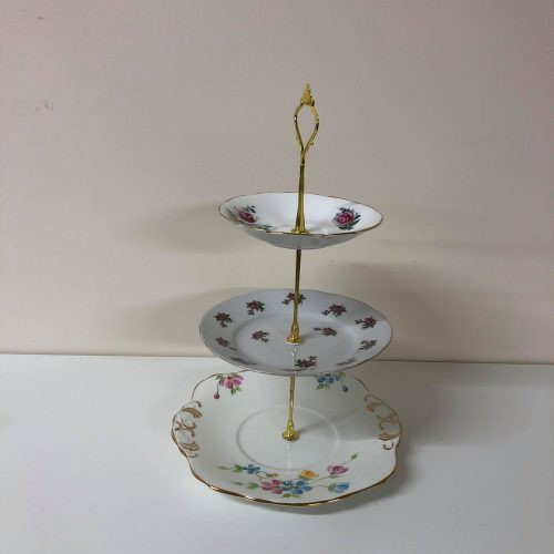 vintage-mis-matched-3-tier-cake-stand